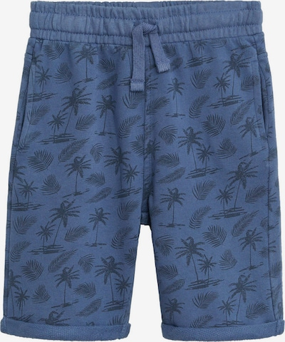 MANGO KIDS Bermuda in blau / nachtblau, Produktansicht