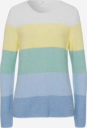 BRAX Pullover 'Liz' in blau / grün / weiß, Produktansicht