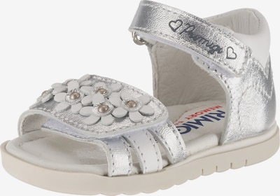 PRIMIGI Sandale in silber / weiß, Produktansicht