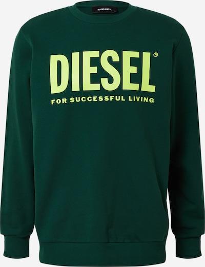 DIESEL Sweater majica u zelena, Pregled proizvoda