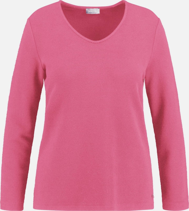 SAMOON T-Shirt in Rosa  Mode neue Kleidung