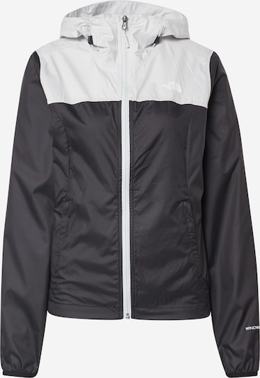 THE NORTH FACE Jacke 'Cyclone' in hellgrau / schwarz, Produktansicht