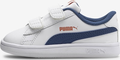 PUMA Sneaker 'Smash v2' in saphir / orange / weiß, Produktansicht