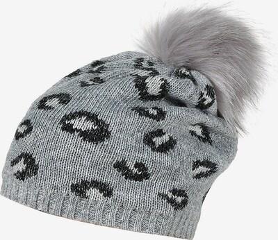 MAXIMO Mütze in grau / dunkelgrau: Frontalansicht