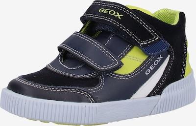 GEOX Sneakers in de kleur Navy / Limoen, Productweergave