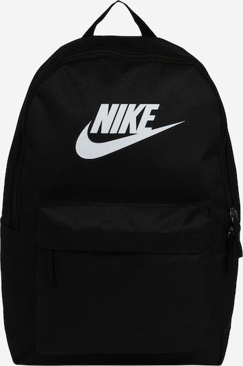 Rucsac 'Heritage 2.0' Nike Sportswear pe negru / alb, Vizualizare produs