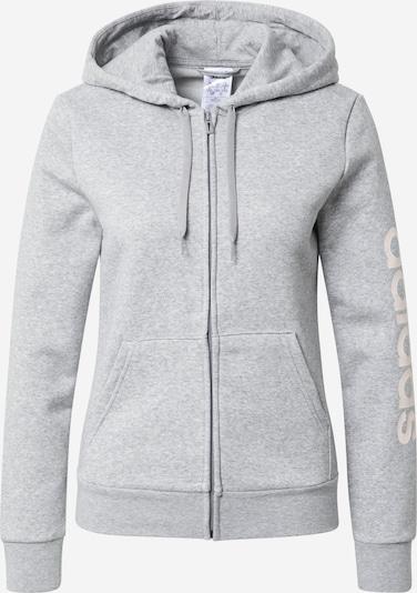 szürke melír / fehér ADIDAS PERFORMANCE Sport szabadidős dzsekik, Termék nézet