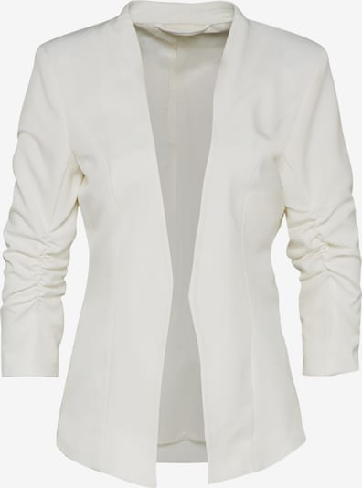VILA Blazer mit Dreiviertelärmeln 'Viher' in weiß: Frontalansicht