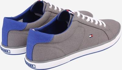TOMMY HILFIGER Sneaker in blau / grau: Rückansicht