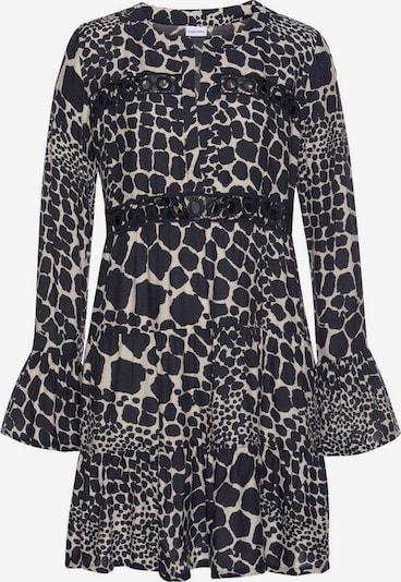 LASCANA Poletna obleka | črna / bela barva, Prikaz izdelka