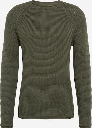 Redefined Rebel Pullover 'Harden' in dunkelgrün, Produktansicht