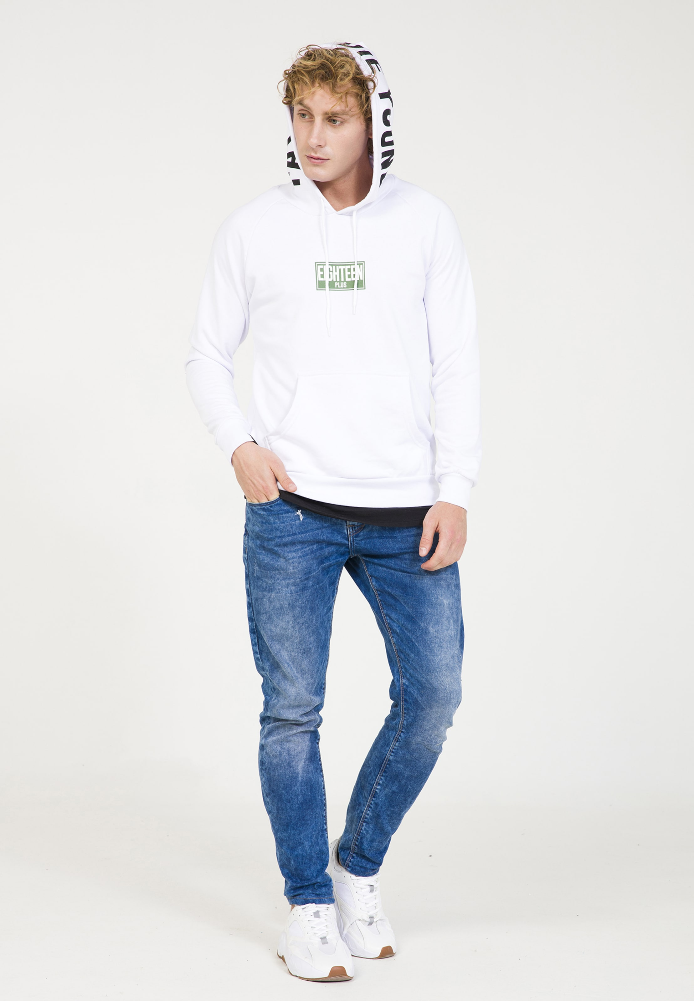 Blanc Eighteen En Sweat shirt Plus vNO8wmn0