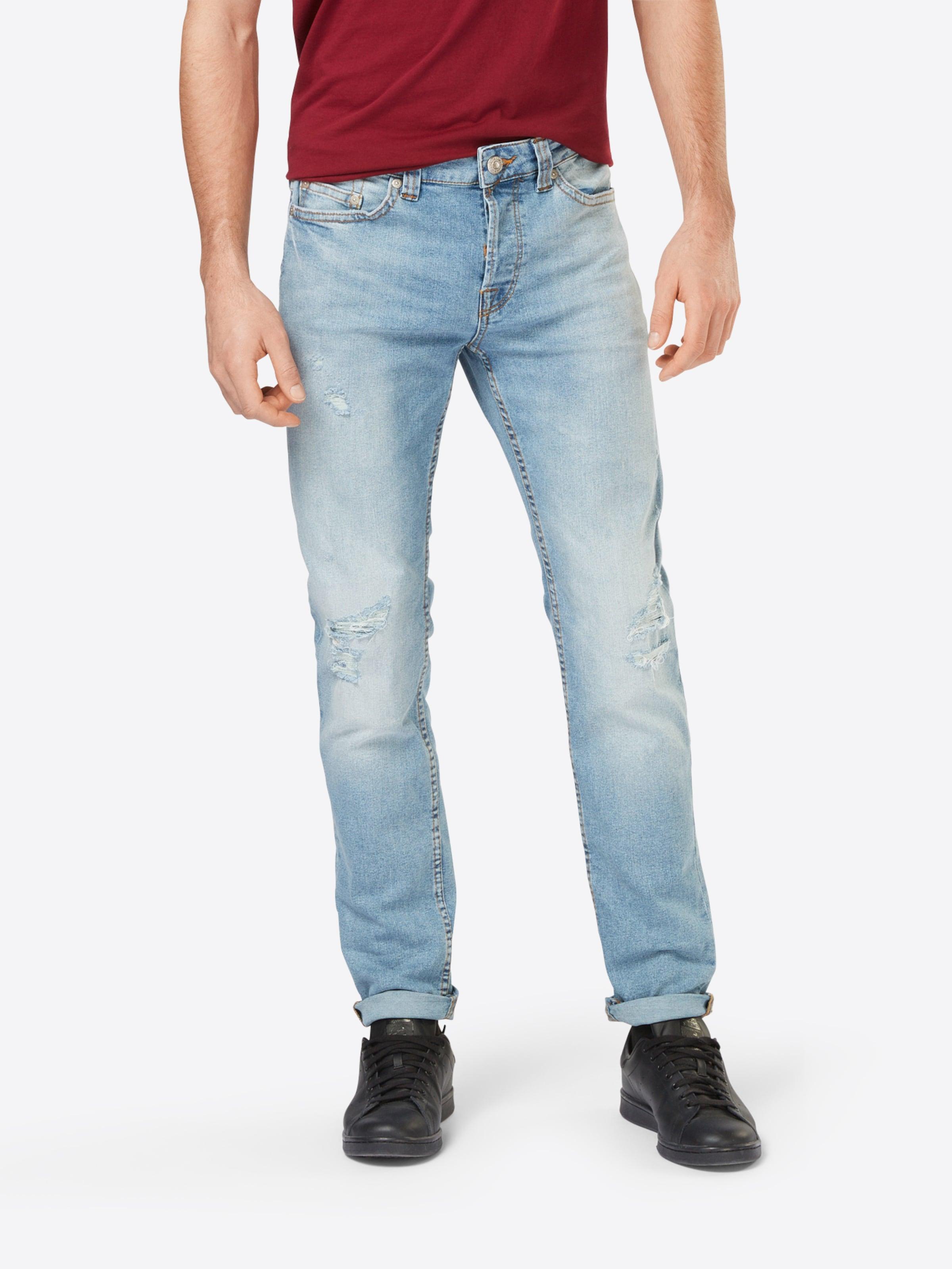 Günstig Kaufen Gut Verkaufen Only & Sons Slim-Jeans im Used-Look 'LOOM BREAKS' Beliebt Zu Verkaufen Footlocker Bilder np6iXfIn