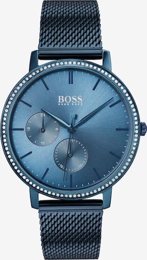 BOSS Uhr in dunkelblau / weiß, Produktansicht