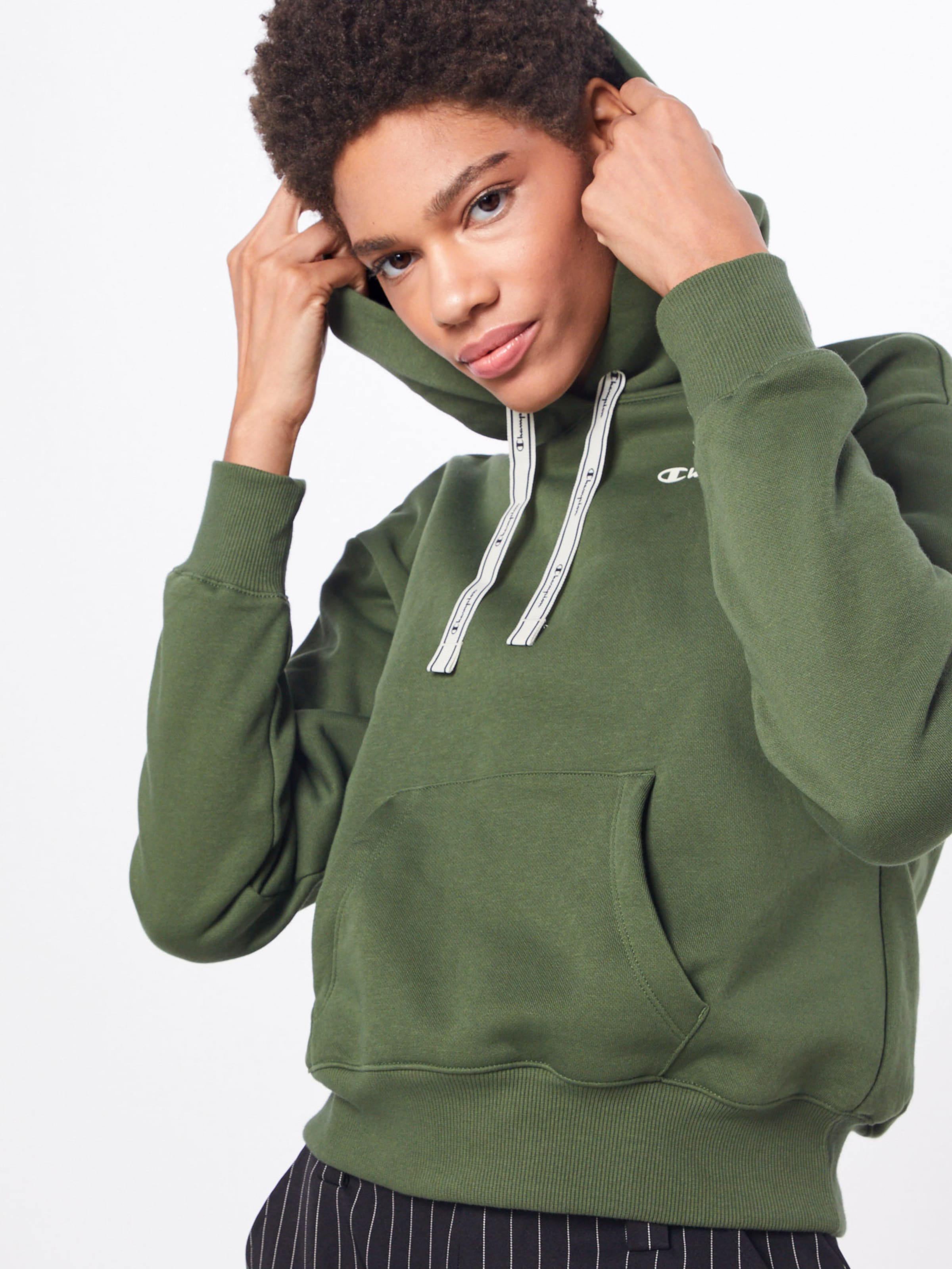 Champion Apparel Hoodie In Authentic Athletic Oliv iPXkZuOT