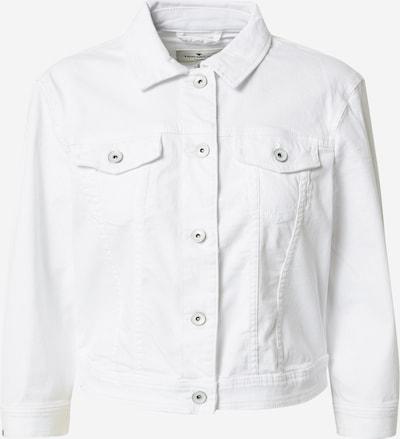 TOM TAILOR Bluse in white denim, Produktansicht