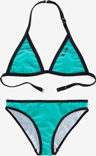 BENCH Triangel-Bikini in türkis / schwarz, Produktansicht
