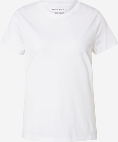 Banana Republic Shirt 'SP20 SS NEW SUPIMA CREW' in weiß, Produktansicht