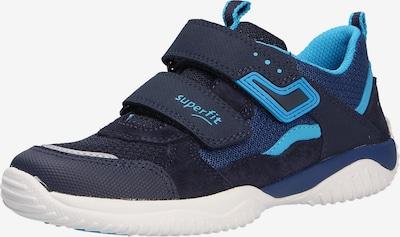 SUPERFIT Sneaker in navy / nachtblau / neonblau, Produktansicht