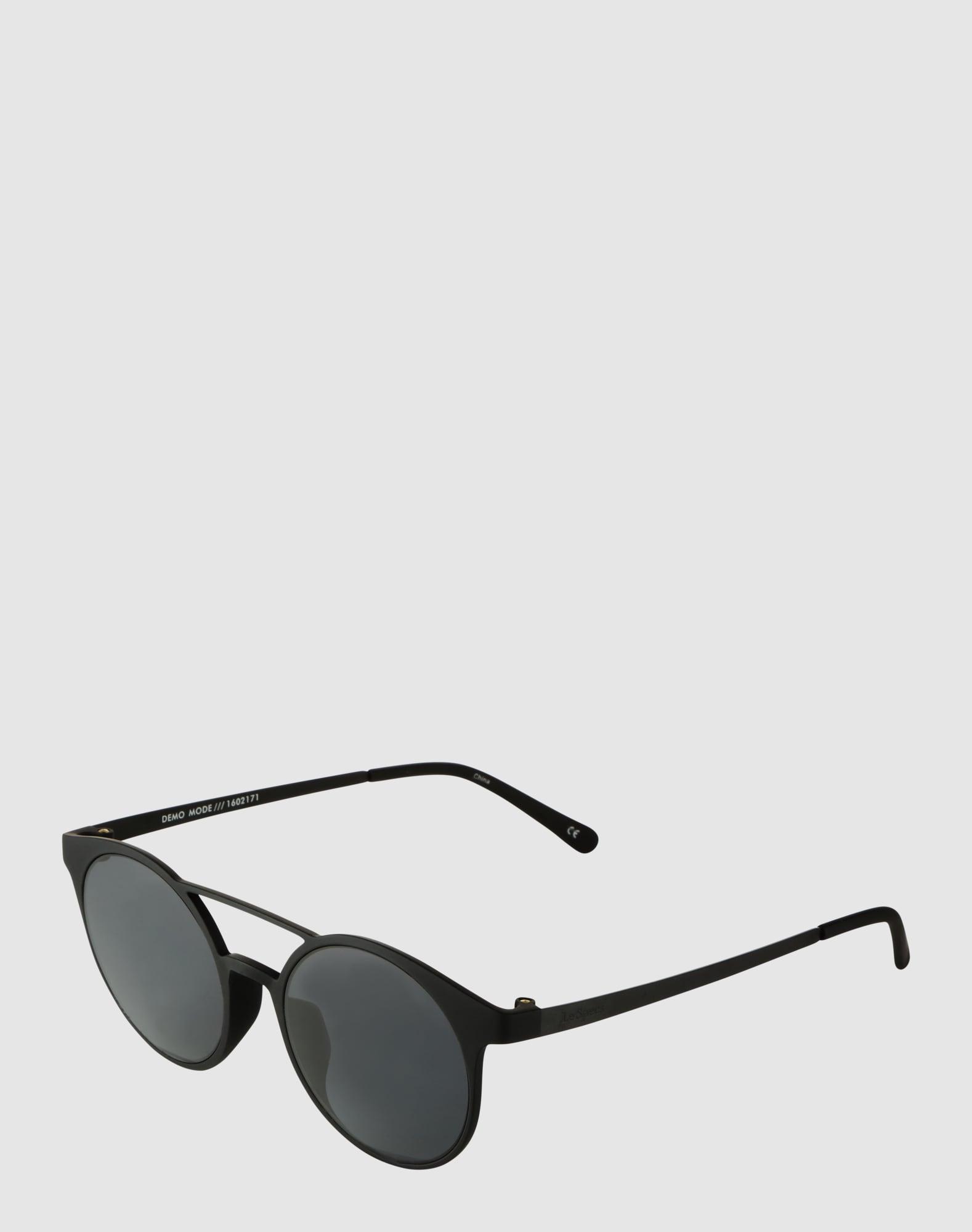 le specs sonnenbrille 39 demo mode 39 in schwarz about you. Black Bedroom Furniture Sets. Home Design Ideas