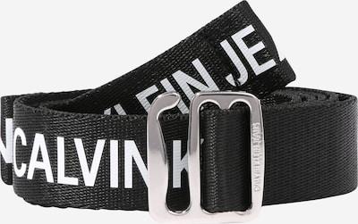 Calvin Klein Jeans Ceinture 'CKJ OFFDUTY TAPE 30MM' en noir, Vue avec produit