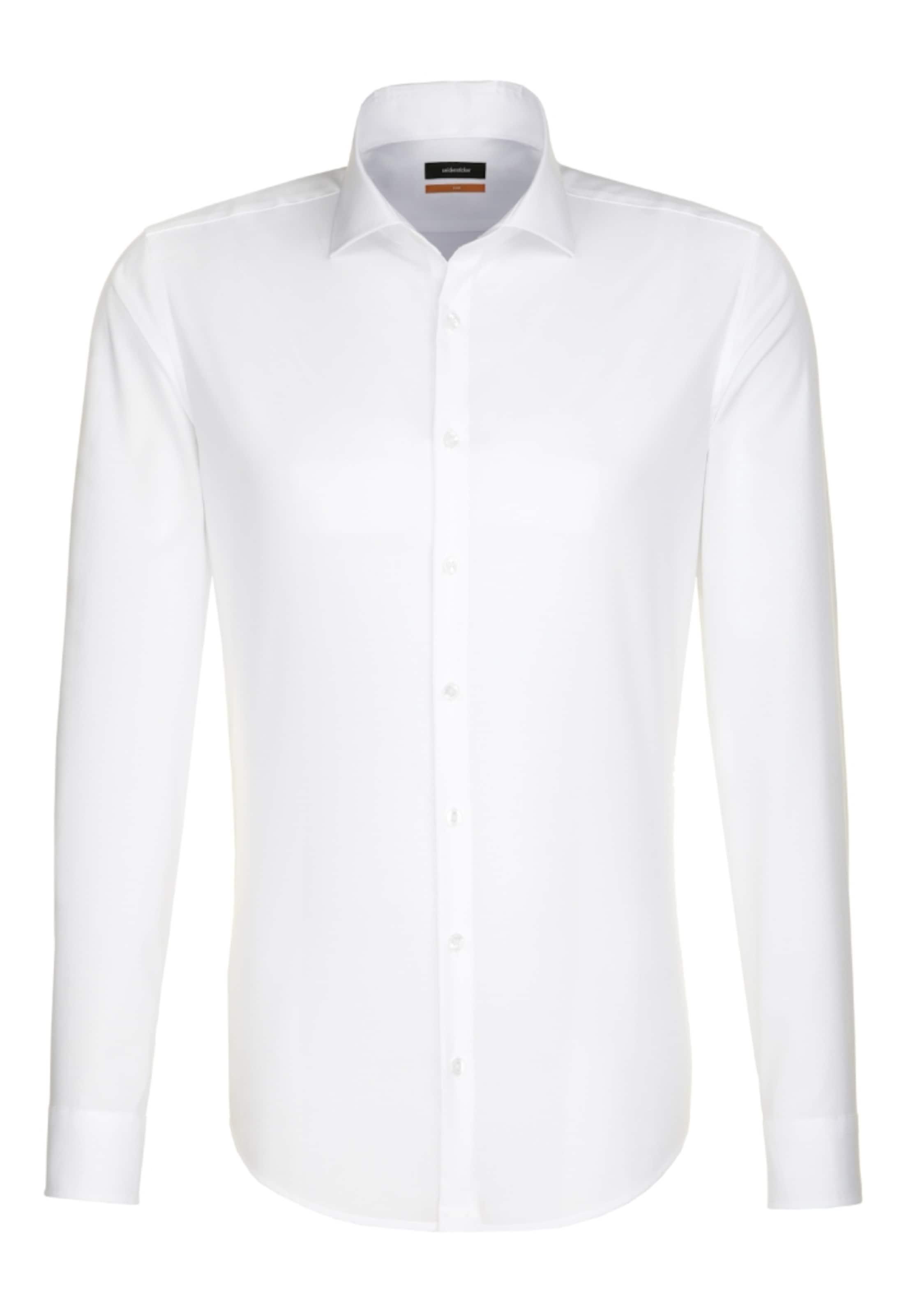 hemd In City Slim ' Weiß Seidensticker 80nwmN