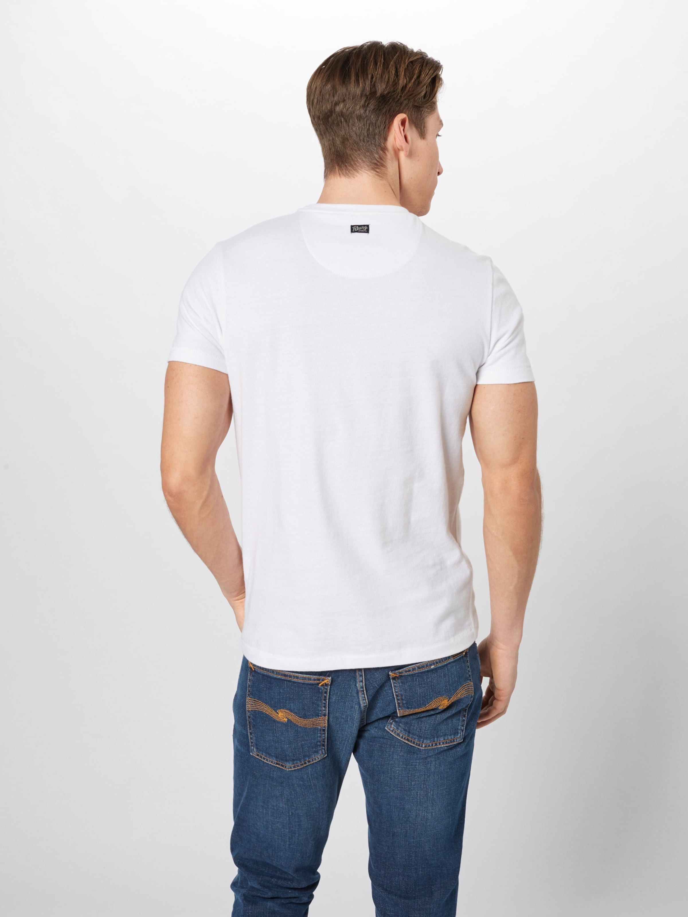 En Petrol NoirBlanc shirt Industries T n0w8Nm