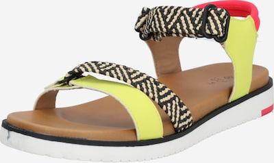 CALL IT SPRING Sandalen 'Stiltia' in gelb / rot / schwarz / weiß, Produktansicht