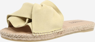 espadrij l´originale Natikače 'Plage Boucle Velour' u bež / žuta, Pregled proizvoda