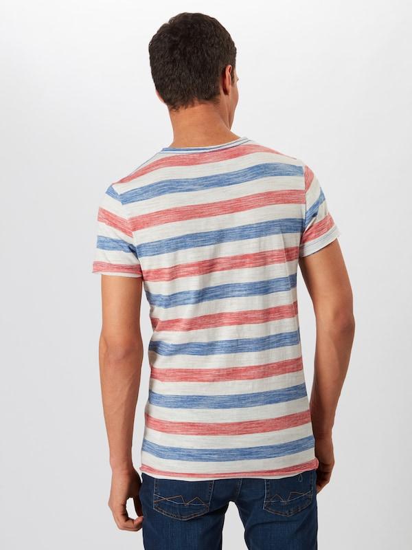 T En Blend 'tee' shirt BleuGris I6yvgYm7bf