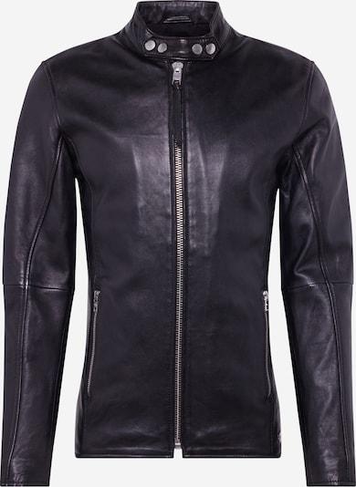 tigha Lederjacke 'Arnulf' in schwarz, Produktansicht