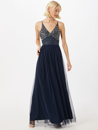 LACE & BEADS Kleid 'Randee' in navy, Modelansicht