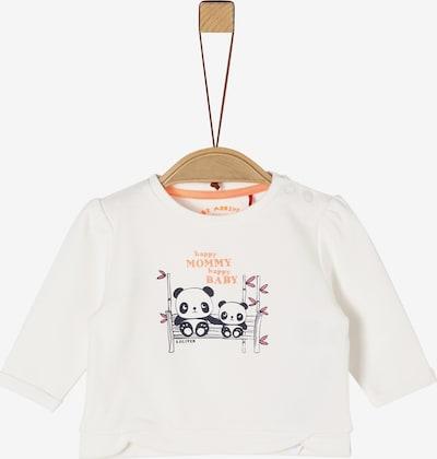 s.Oliver Sweatshirt in creme / mischfarben, Produktansicht