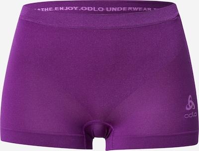 ODLO Sportbroek 'SUW' in de kleur Donkerlila, Productweergave