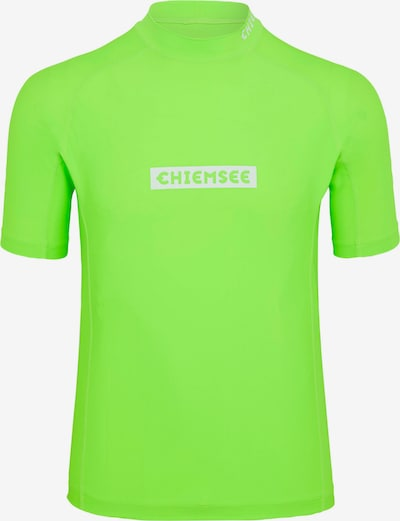 Tricou funcțional CHIEMSEE pe verde, Vizualizare produs