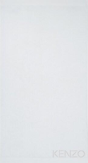 Kenzo Maison Gästetuch Set 'ICONIC' 2er Set in weiß, Produktansicht