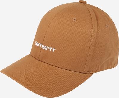Carhartt WIP Czapka z daszkiem 'Script' w kolorze camel / białym, Podgląd produktu