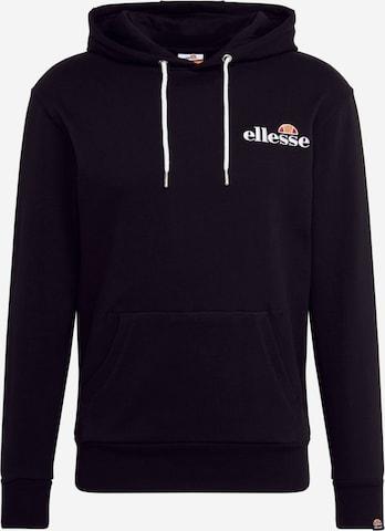 ELLESSE Sweatshirt 'PRIMERO' in Black
