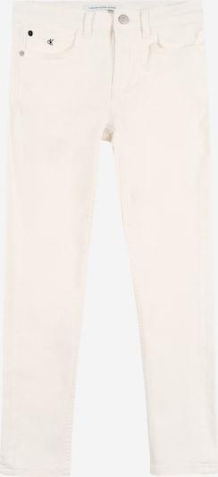 Calvin Klein Jean en blanc, Vue avec produit