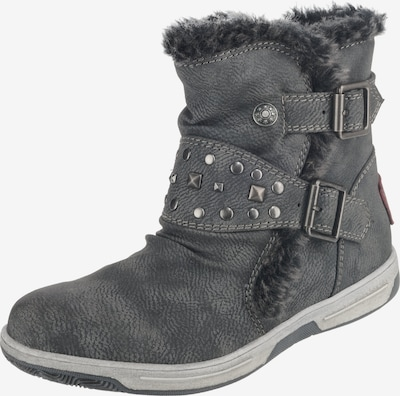 Be Mega Stiefel in grau: Frontalansicht
