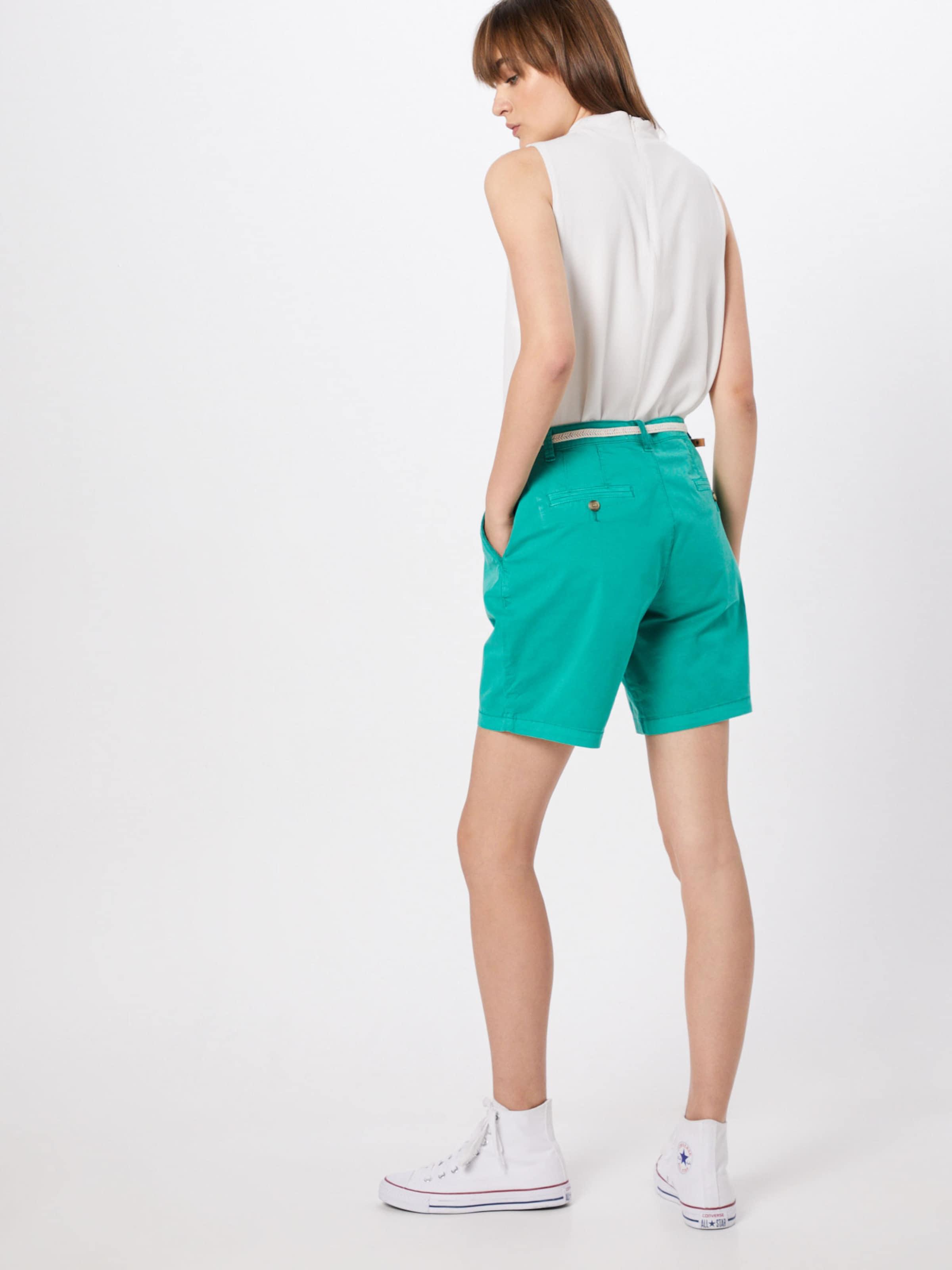 Pantalon Foncé Chino Esprit En Vert SqUMVpLzG