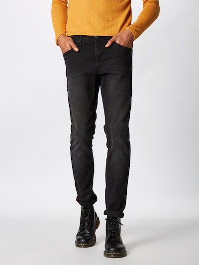 BLEND Jeans 'Jet Slim Taperd' in black denim, Modelansicht