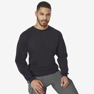 BRDS Sweater 'THOMAS' in schwarz: Frontalansicht