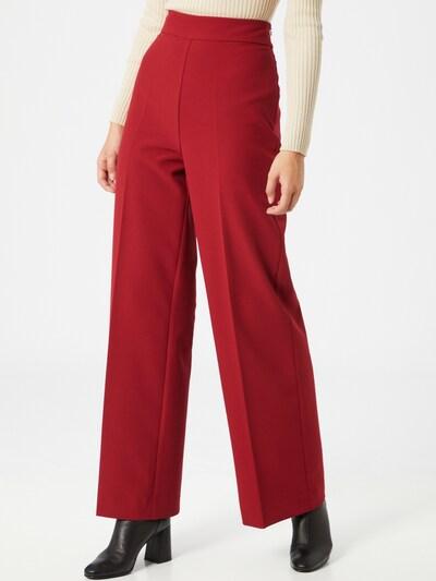 MOS MOSH Pantalon 'Rita Gaia' en rouge, Vue avec modèle