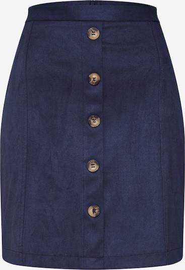ESPRIT Rock 'DFAKE SUEDE Skirt' in navy, Produktansicht