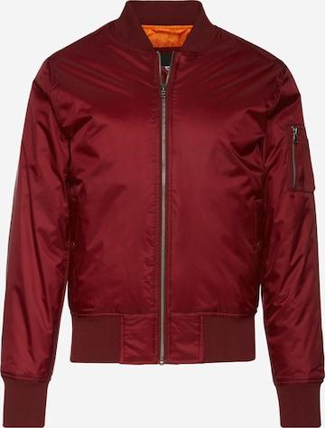 Urban Classics Jacke in Rot