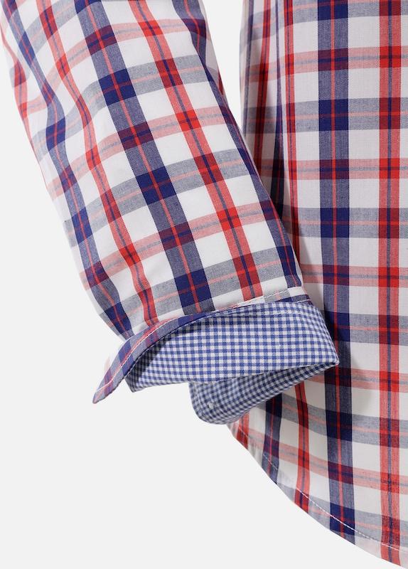 OS-TRACHTEN Trachtenhemd im sportivem Karo