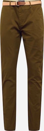 SCOTCH & SODA Chino-püksid 'Stretch Stuart with belt' khaki, Tootevaade