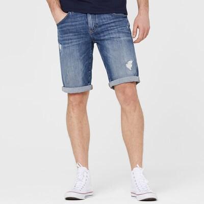 Harlem Soul Jeans in blue denim: Frontalansicht