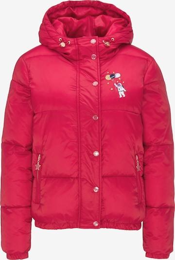 MYMO Winterjas in de kleur Rood, Productweergave